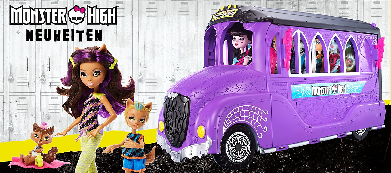 Monster High Neuheiten