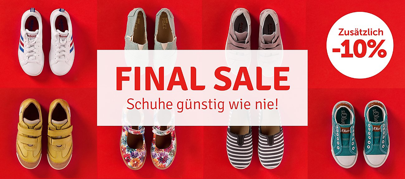 Final Sale - Schuhe