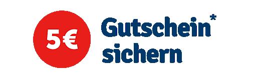 Zum Newsletter anmelden und 5 Euro Gutschein sichern!