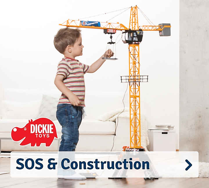 Dickie Toys SOS und Construction