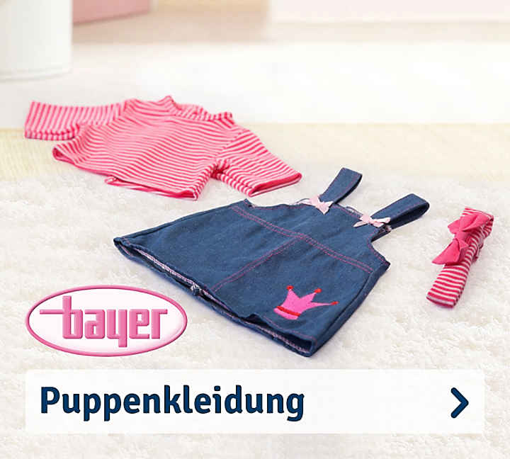 Bayer Puppenkleidung