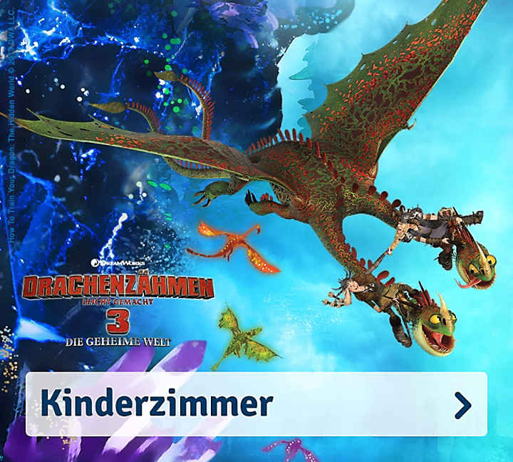Dragons Kinderzimmer
