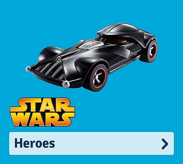 Hot Wheels Heros
