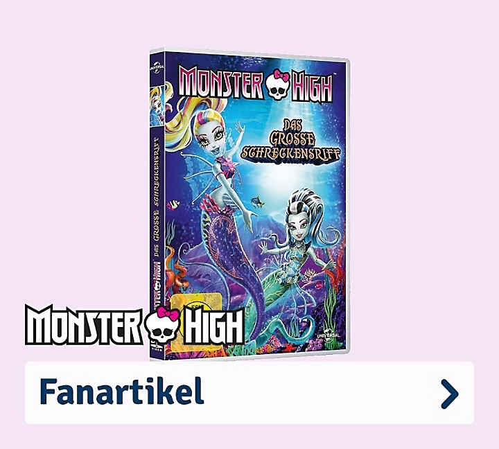 Monster High Fanartikel