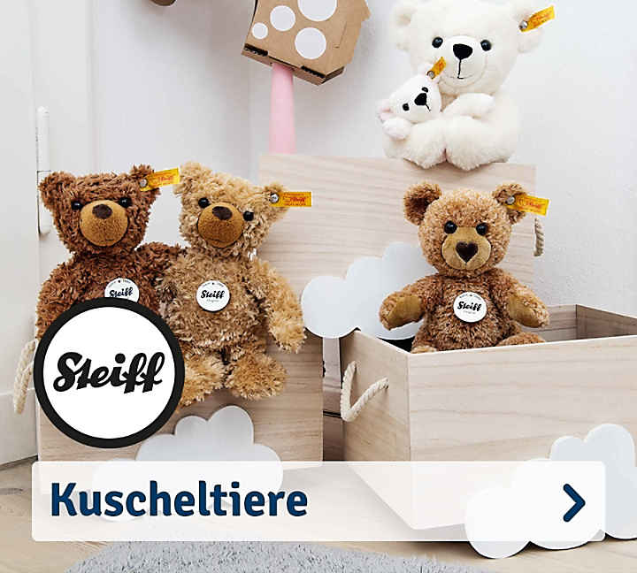 steiff tiere mit dem knopf im ohr g nstig online kaufen mytoys. Black Bedroom Furniture Sets. Home Design Ideas