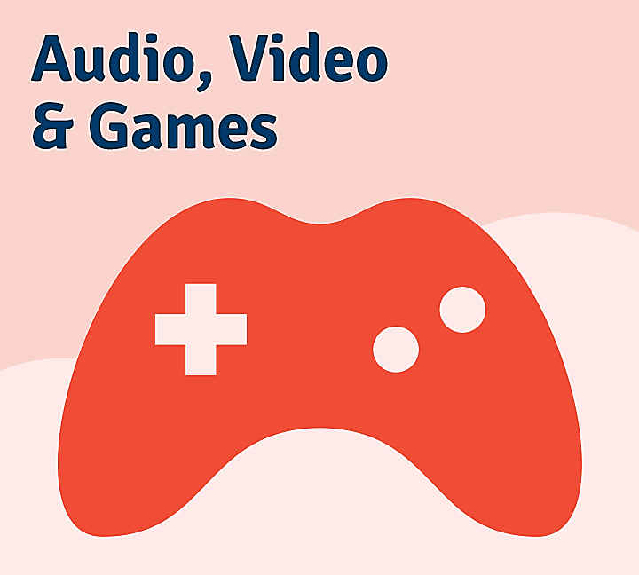 Kategorie: Audio, Video und Games