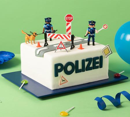 Partyset Polizei Geburtstagsparty Deko Jungen Polizeigeburtstag Kindergeburtstag
