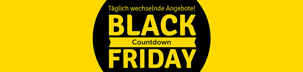 Black Shoppingdays Countdown
